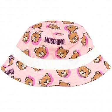Moschino Kids Cappello Pescatore Rosa Neonati - Moschino Kids mzx032lmb04-84913 -moschinokids20