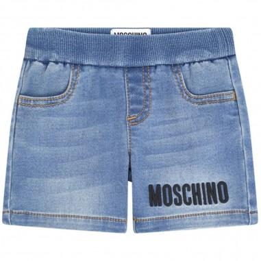 Moschino Kids Short Jeans Neonato - Moschino Kids muq002lde03-moschinokids20