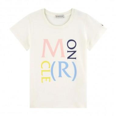 Moncler Formula Logo T-Shirt - Moncler Kids 8c724-10-8790a-moncler20