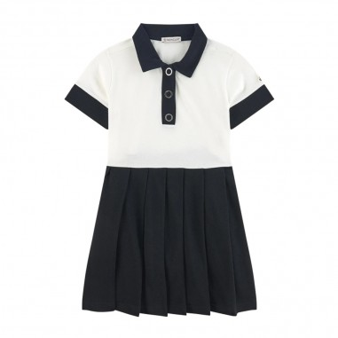 Moncler Colorblock Dress - Moncler Kids 8i712-10-8496f-moncler20