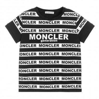 Moncler T-Shirt Logomania - Moncler Kids 8c708-10-8790a-moncler20