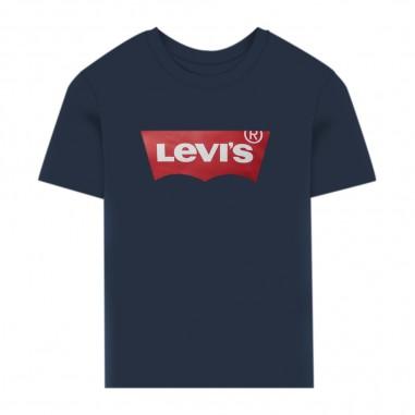 Levi's Batwing Baby T-Shirt - Levi's lk6e81576e8157-blue-levis20