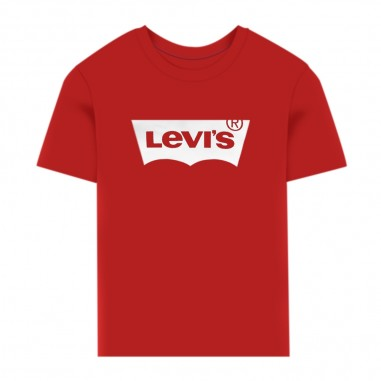 Levi's T-Shirt Rossa Batwing Neonato - Levi's lk6e81576e8157-red-levis20