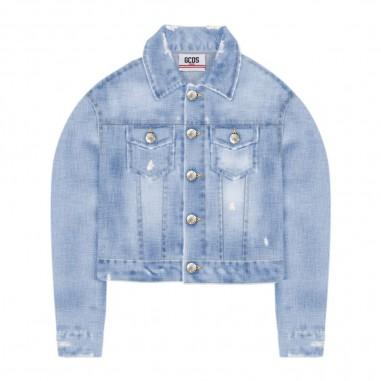 GCDS mini Giubbino Jeans Ragazza - GCDS mini 023984-gcdsmini20