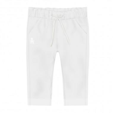 Le Bebé Pantalone Neonato - Le Bebé lbb2526-bianco-lebebe20