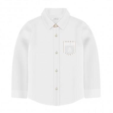 Le Bebé Camicia Bianca Neonato - Le Bebé lbb2585-lebebe20