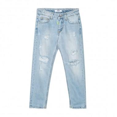 MSGM Light Blue Jeans - MSGM 022417-msgm20