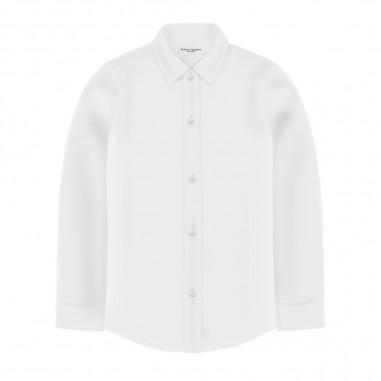 Paolo Pecora Boys White Shirt - Paolo Pecora pp2139-bianco-paolopecora20