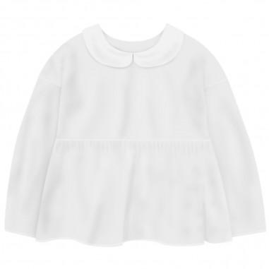 Piccola Ludo Camicia Bianca Bambina - Piccola Ludo sarin-piccolaludo20