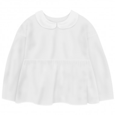 Piccola Ludo Girls White Shirt - Piccola Ludo sarin-piccolaludo20