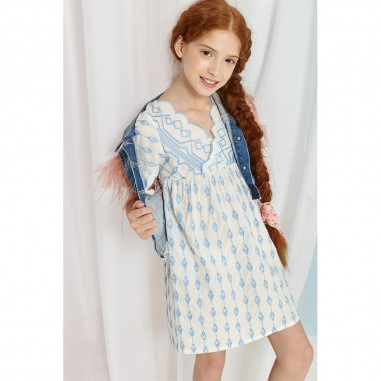 Dixie Kids Girls 70S Dress - Dixie Kids ab21394g23-dixiekids20