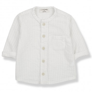 1+ In the Family White Baby Shirt - 1+ IN THE FAMILY oyon-onemoreinthefamily20