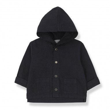 1+ In the Family Blue Baby Jacket - 1+ IN THE FAMILY bastia-blu-onemoreinthefamily20