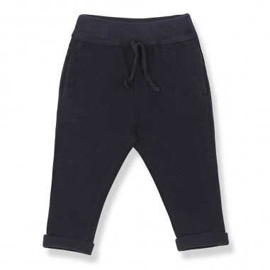 1+ In the Family Blue Baby Pants - 1+ IN THE FAMILY trapani-onemoreinthefamily20