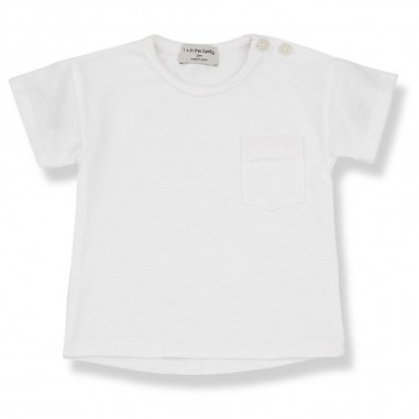 1+ In the Family T-Shirt Bianca Neonato - 1+ IN THE FAMILY vico-bianco-onemoreinthefamily20