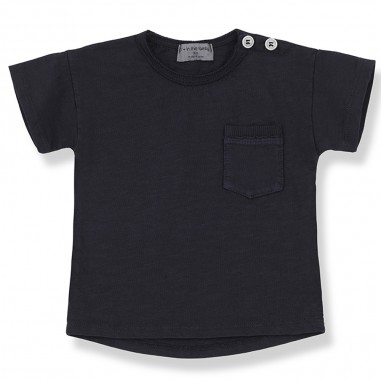 1+ In the Family Short Sleeve Baby T-Shirt - 1+ IN THE FAMILY vico-blu-onemoreinthefamily20