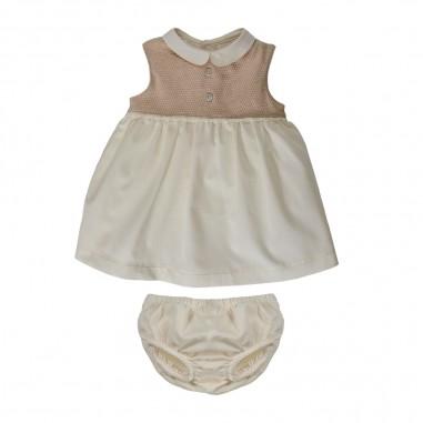 Natura Pura Baby Girls Voile Dress - Natura Pura 039-naturapura20