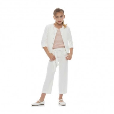Kocca Girls White Cardigan - Kocca autilia-kocca20