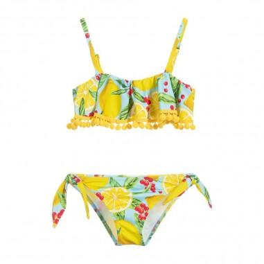 Mc2 Saint Barth Girls Lemons Bikini - Mc2 Saint Barth carl001-lemt31-mc2saintbarth20