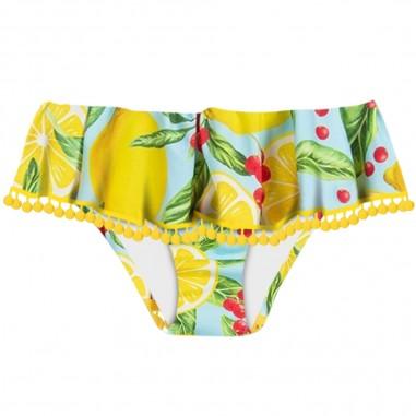 Mc2 Saint Barth Girls Lemons Swim Bottom - Mc2 Saint Barth fan0001-lemt31-mc2saintbarth20