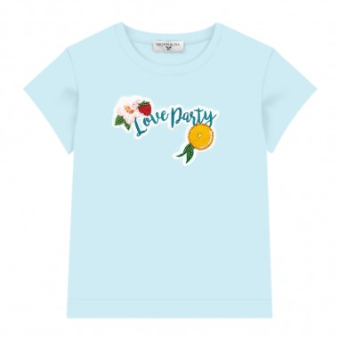 Monnalisa Girls Mint T-Shirt - Monnalisa 115642af-monnalisa20