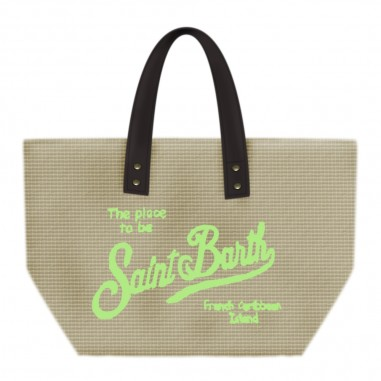 Mc2 Saint Barth Straw Beach Bag - Mc2 Saint Barth hel0007-emb19-mc2saintbarth20
