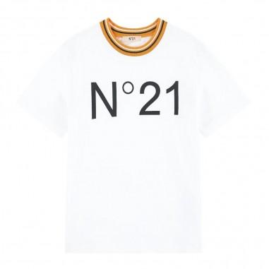 N.21 Kids T-Shirt Logo Basica Bambino - N.21 Kids n2146h-n21kids20