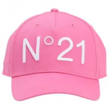 N.21 Kids Pink Cap - N.21 Kids n2143f-0n304-n21kids20