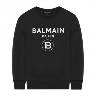 Balmain Kids Iconic Sweatshirt - Balmain Kids 6n4670-930bc-balmainkids30