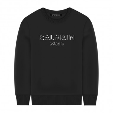 Balmain Kids Felpa Logo - Balmain Kids 6n4640-balmainkids30