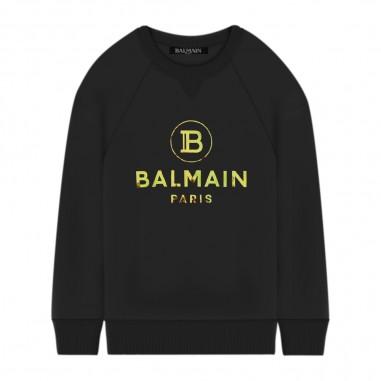 Balmain Kids Felpa Logo Specchio - Balmain Kids 6n4660-balmainkids30