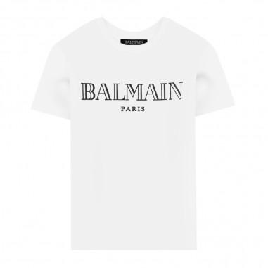Balmain Kids T-Shirt - Balmain Kids 6n8551-100ag-balmainkids30