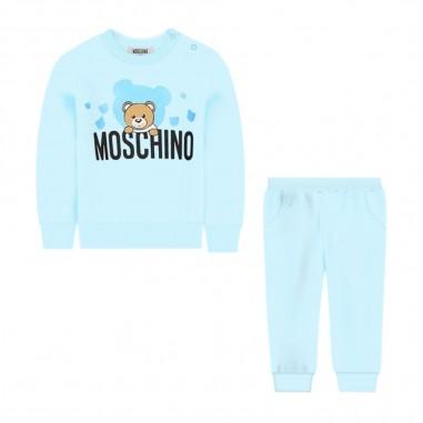 Moschino Kids Baby Light Blue 2 Piece Set - Moschino Kids muk02nlda00-moschinokids20