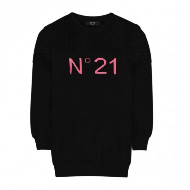 N.21 Kids Abito Logo - N.21 Kids n214bm-n21kids30
