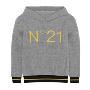N.21 Kids Hooded Sweater - N.21 Kids n214dq-n21kids30