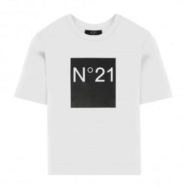 N.21 Kids Logo T-Shirt - N.21 Kids n214av-n21kids30