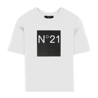 N.21 Kids T-Shirt Logo - N.21 Kids n214av-n21kids30