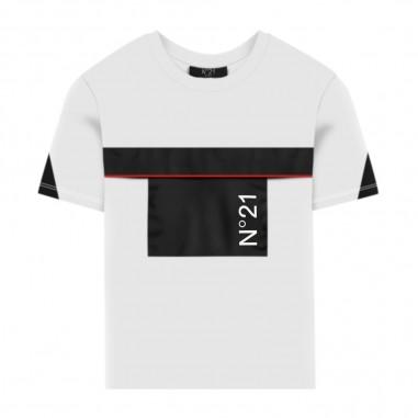 N.21 Kids White T-Shirt - N.21 Kids n214ax-n21kids30