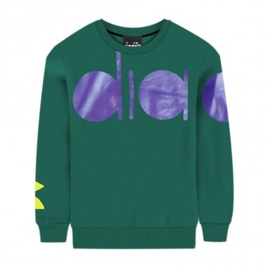 Diadora Boys Green Sweatshirt - Diadora 25721-080-diadora30