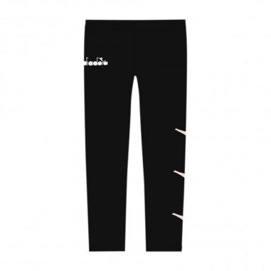 Diadora Girls Black Leggings - Diadora 26312-110-diadora30