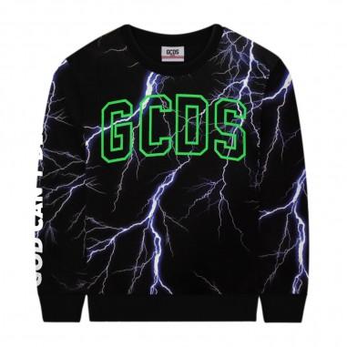 GCDS mini Lightning Sweatshirt - GCDS mini 25881-gcdsmini30