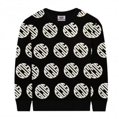 GCDS mini Black Unisex Sweatshirt - GCDS mini 25767-110-gcdsmini30