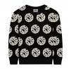 Black Unisex Sweatshirt - GCDS mini