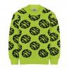 Boys Fluo Yellow Sweater - GCDS mini