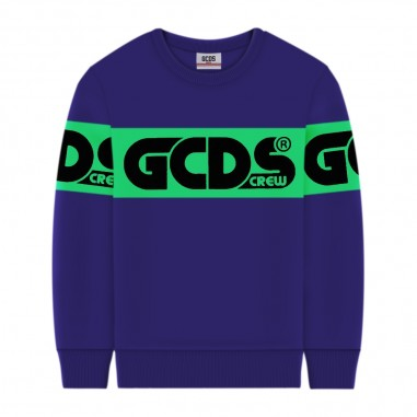 GCDS mini Felpa Viola - GCDS mini 25763-070-gcdsmini30