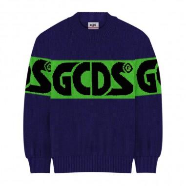 GCDS mini Maglia Viola - GCDS mini 25756-070-gcdsmini30