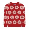 Red Unisex Sweatshirt - GCDS mini