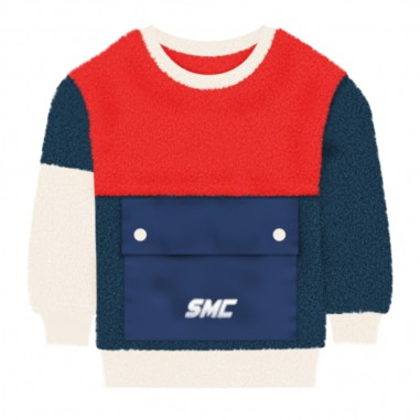 Stella McCartney Kids Teddy Bear Colorblock Sweatshirt - Stella McCartney Kids 601447spk61-stellamccartneykids30