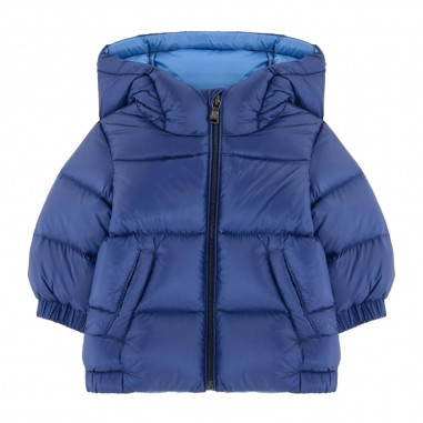 Moncler Giubbino New Macaire Azzurro - Moncler 1a53920-53334-704-moncler30