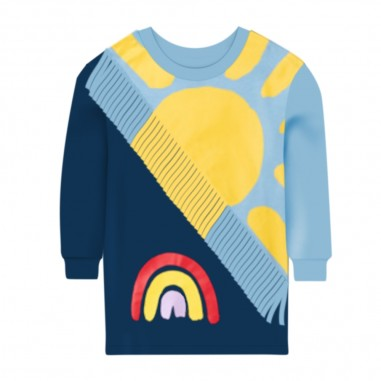 Stella McCartney Kids Abito Felpa Sole - Stella McCartney Kids 601146spja6-stellamccartneykids30